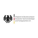 SIUS Consulting und Sicherheitsschulungen.online sind Mitglied im Bundesverband Deutscher Sachverständiger und Fachgutachter e.V.